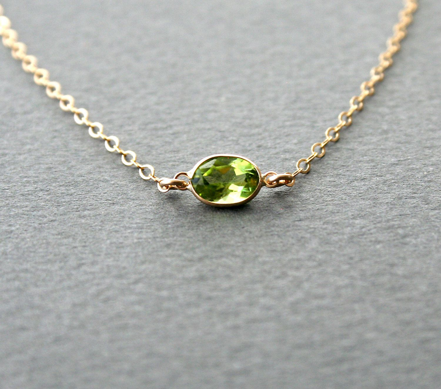 color august toe pmr ring necklace silver sterling az peridot crystal jewelry bling birthstone