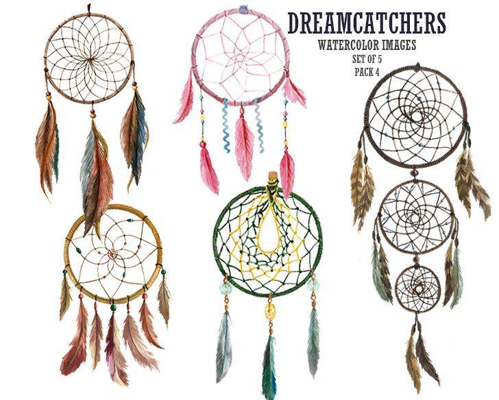 Dreamcatchers, Tribal Clipart, Dreamcatcher graphics, Dream ...