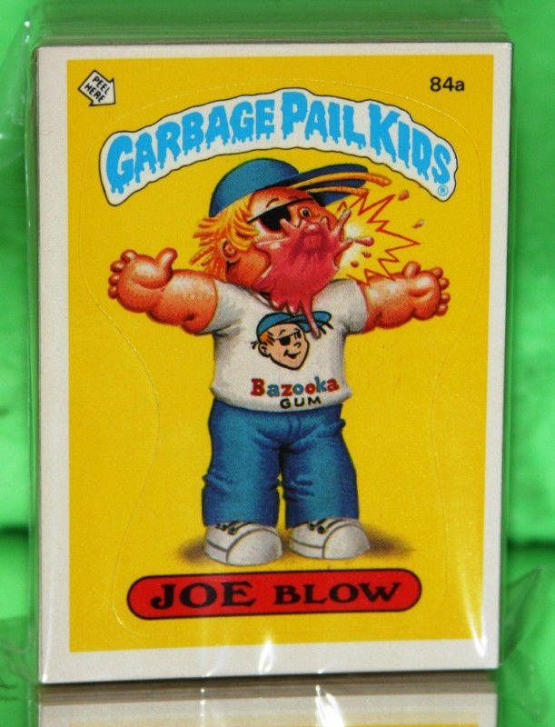 Pin By Tracy Messmer On Garbage Pail Kids Garbage Pail Kids Garbage Pail Kids Cards Pail