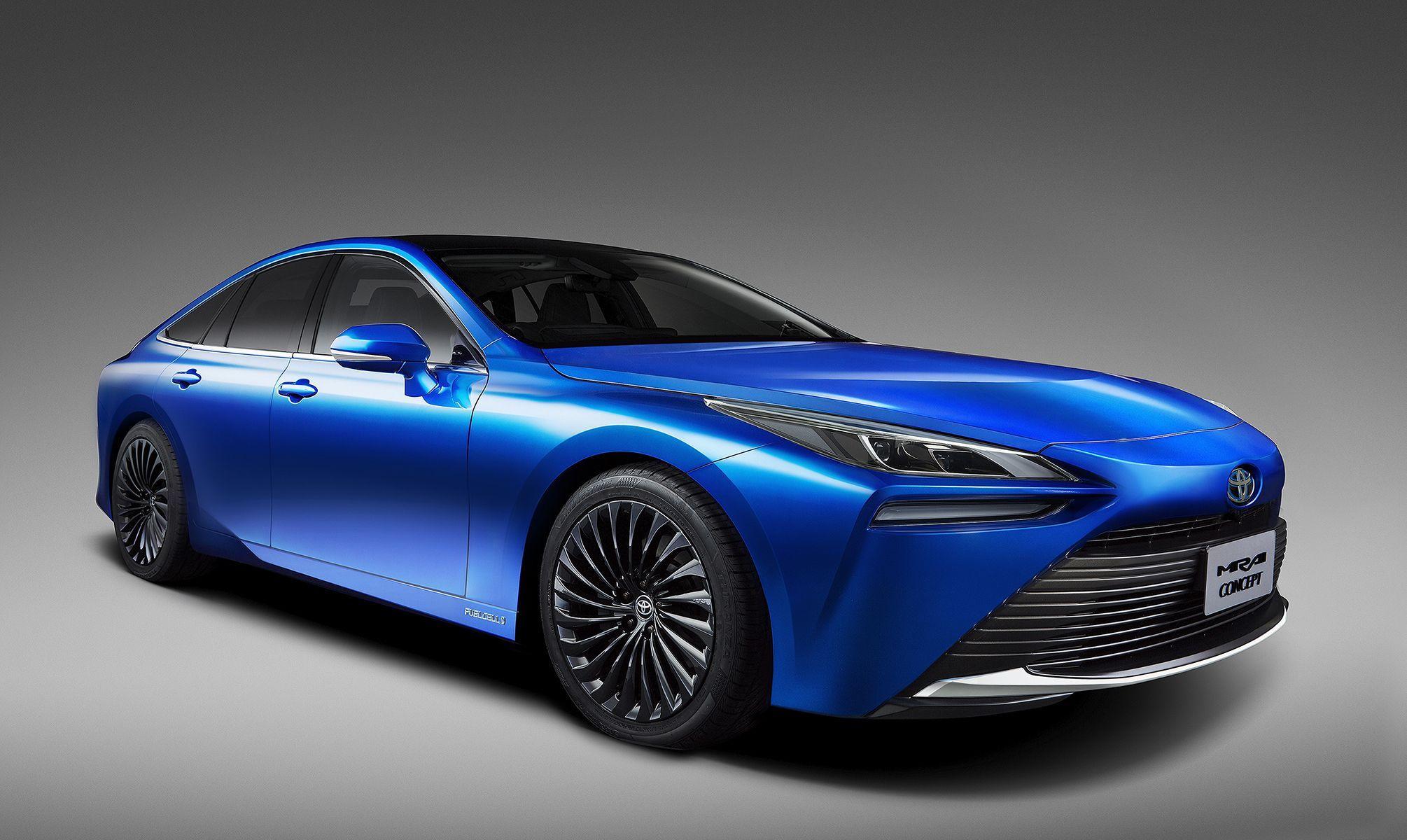 2021 Toyota Mirai Fuel Cell Sedan Goes Rwd For Second Generation Hydrogen Powered Cars Hydrogen Car Tokyo Motor Show