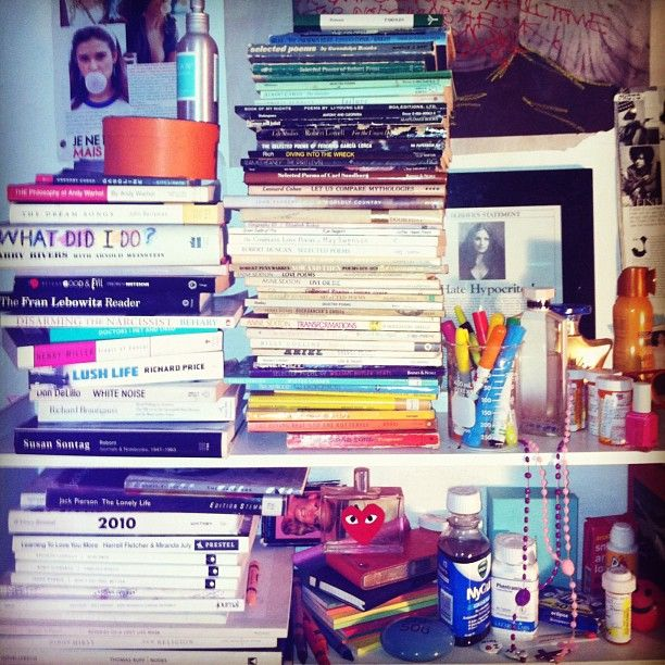 Cat Marnell's shelving unit