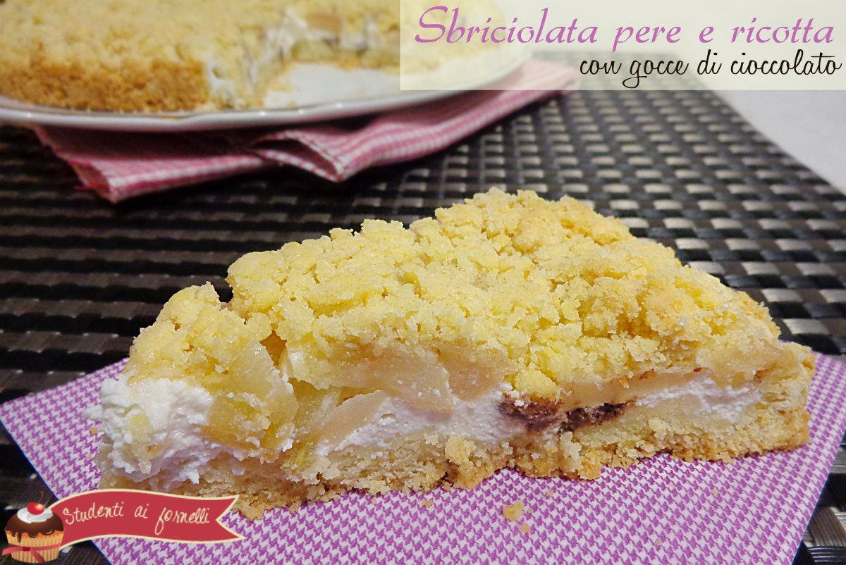 Ricetta torta sbrisolona con mascarpone