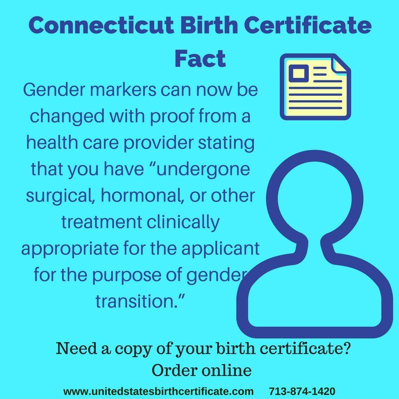 Born In Connecticut And Need A Copy Of Your Birth Certificate Fast