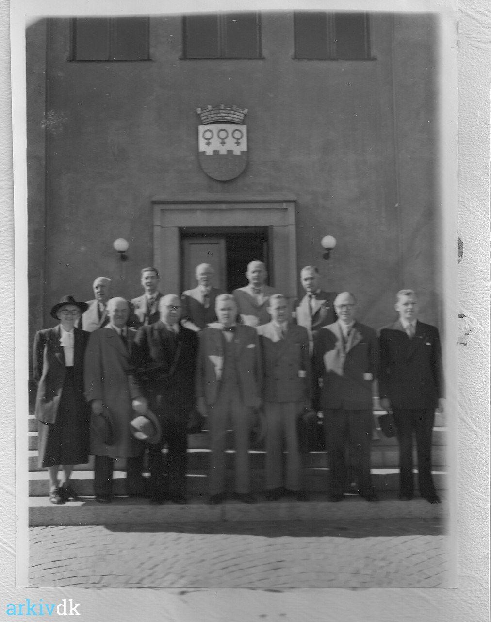 Arkiv Dk Vordingborgensere Pa Besog I Falun Fra Den 27 Til 30 August 1948