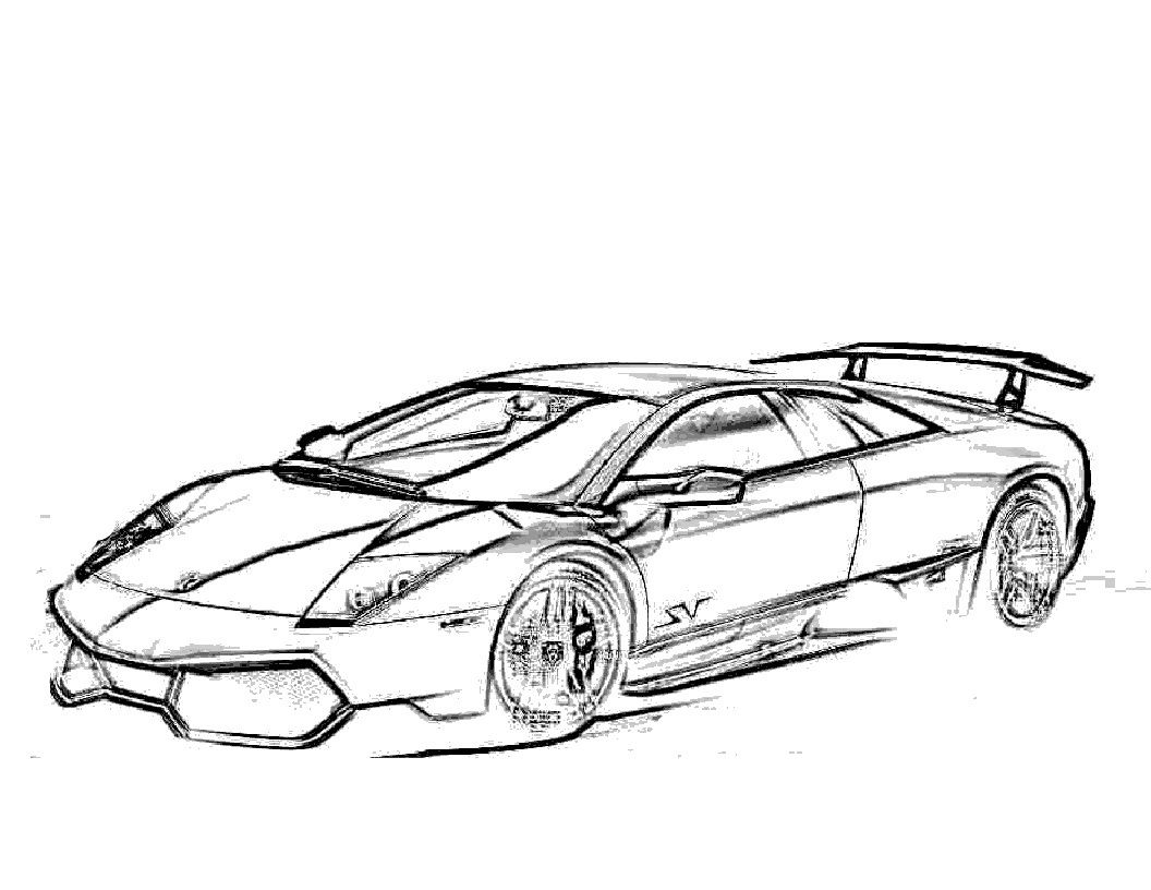 Free Printable Lamborghini Coloring Pages For Kids Cars Coloring Pages Race Car Coloring Pages Coloring Pages