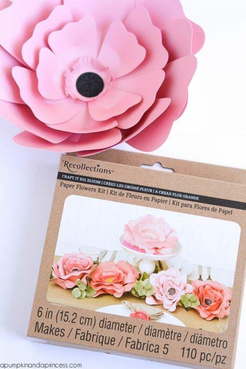 Paper Flower Centerpiece | Create paper flowers | Pinterest | Paper ...