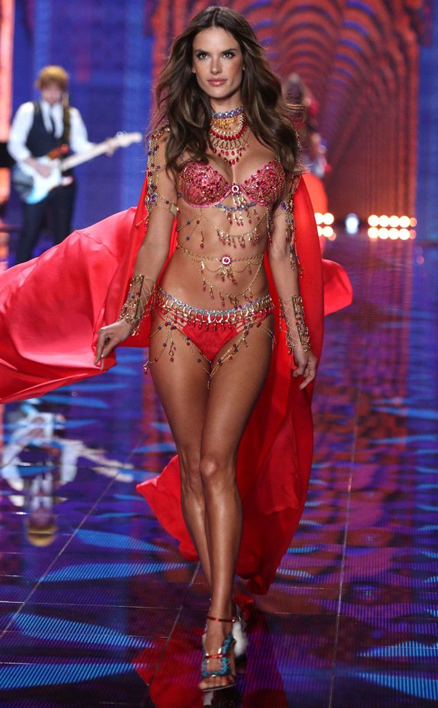 d479a041b8 Adriana Lima   Alessandra Ambrosio from 2014 Victoria s Secret Fashion Show