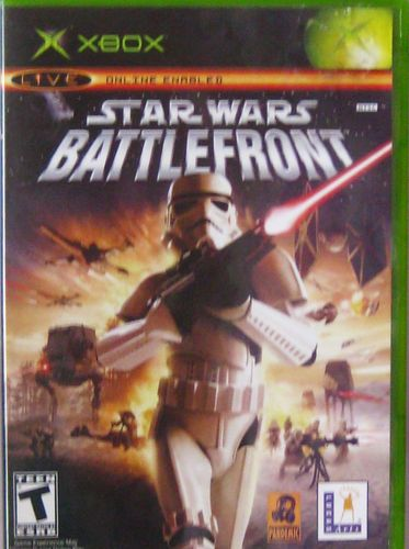 star wars battlefront xbox xbox 360 black label adult owned manual artwork box all original rare free shipping