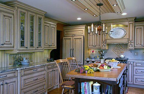 distressed kitchen cabinets Build Your Own Distressed Kitchen