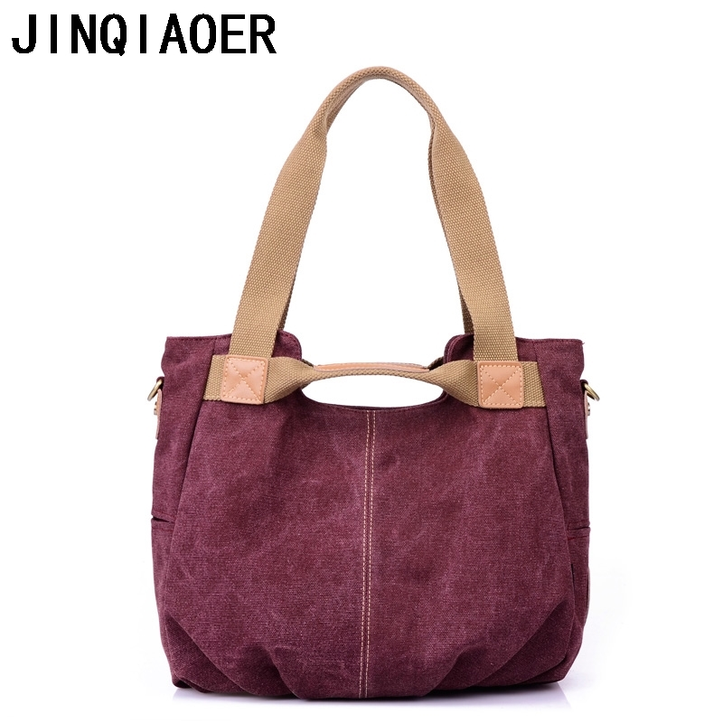 19.29$  Buy here - http://alifst.shopchina.info/go.php?t=32488811592 - Top-Handle Bags Canvas Tote  Ladies Designer Handbags High Quality Women Messenger Bags Crossbody Bags Shoulder Duffle  #aliexpressideas