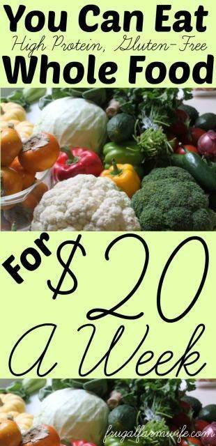 A Healthy Diet For $20.00 A Week | Oh so fit! | Healthy ...