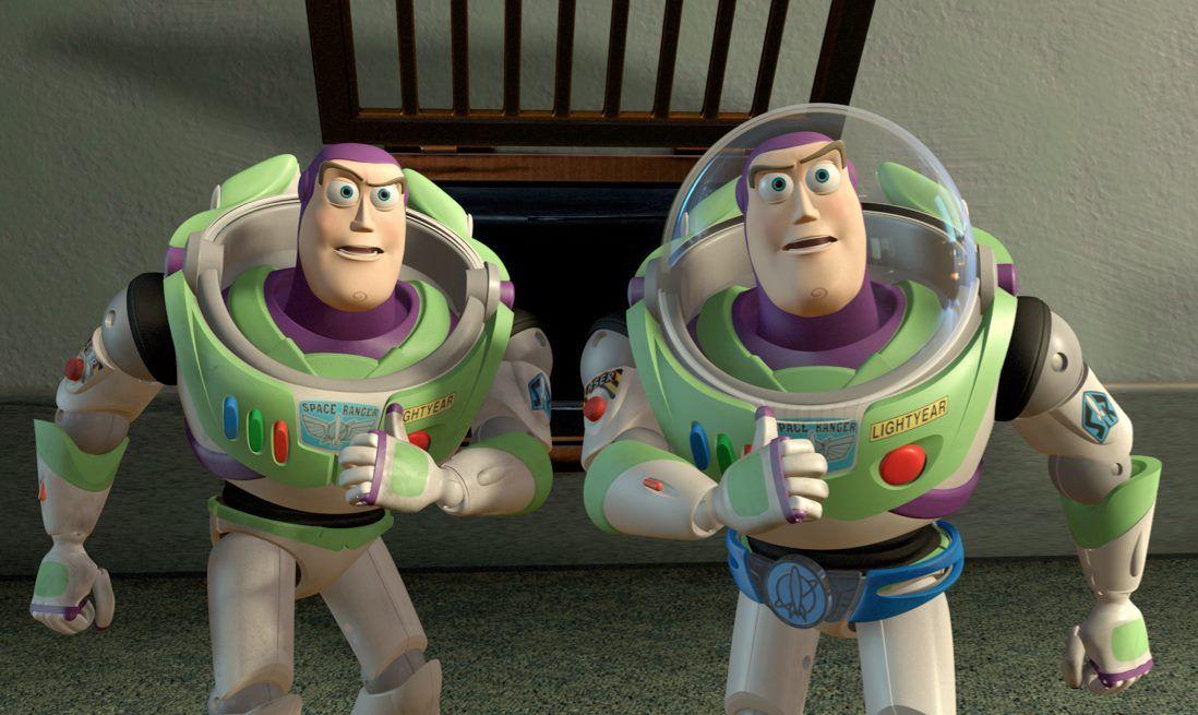 Buzz And Utility Belt Buzz From Toy Story 2 Disney Pixar