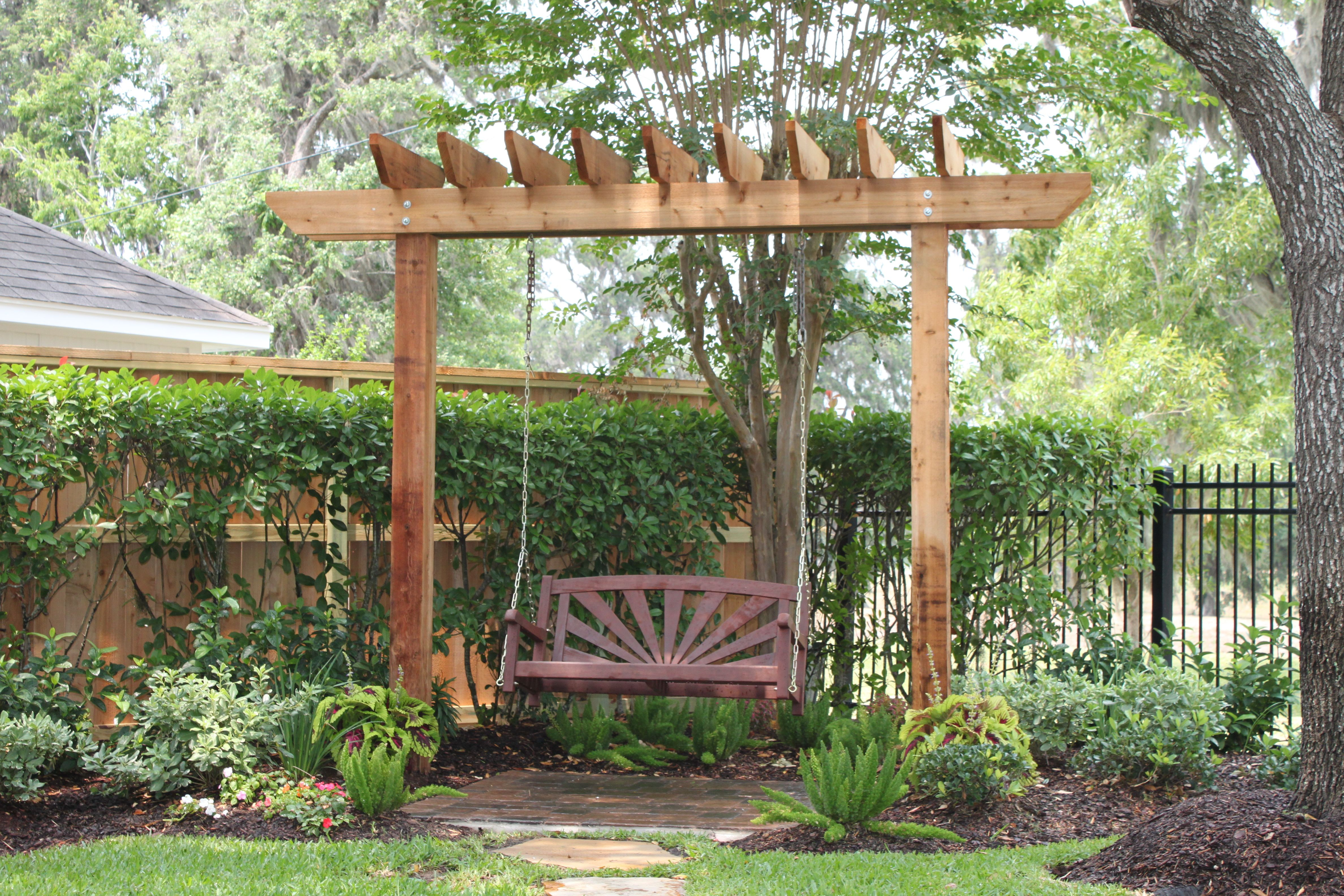 2 post arbor plans diy free download how to build a wood for How to build a corner pergola