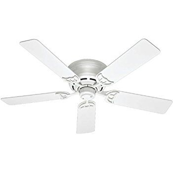 Minka aire f565 wh mesa 52 ceiling fan white flush mount minka aire f565 wh mesa 52 ceiling fan white aloadofball Image collections