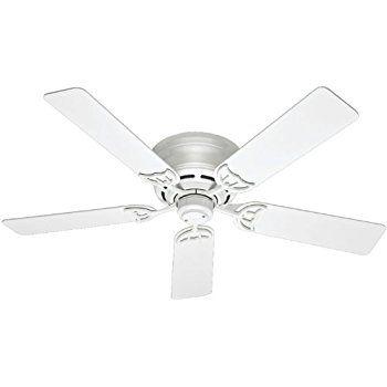 Minka Aire F565 Wh Mesa 52 Quot Ceiling Fan White Flush
