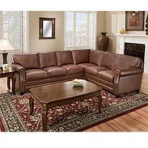 Home Furniture Sofas Costco Carson Top Grain Leather Sectional Sofa