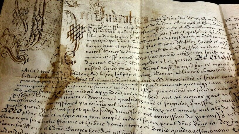 Acomb Windmill operated in the 17th century to produce flour. Here's the fascinating Acomb Windmill deed (WIN).