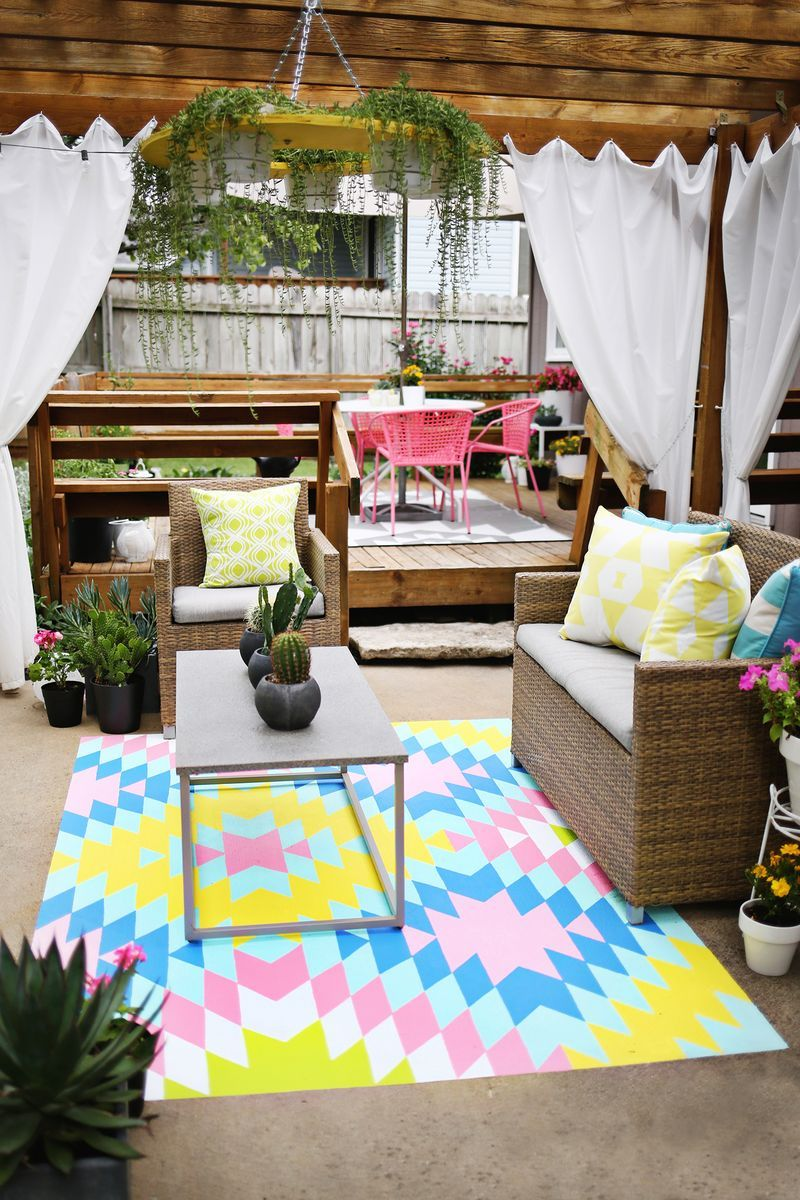 Bright Fun Outdoor Summer E Click Through For Before And After Pics