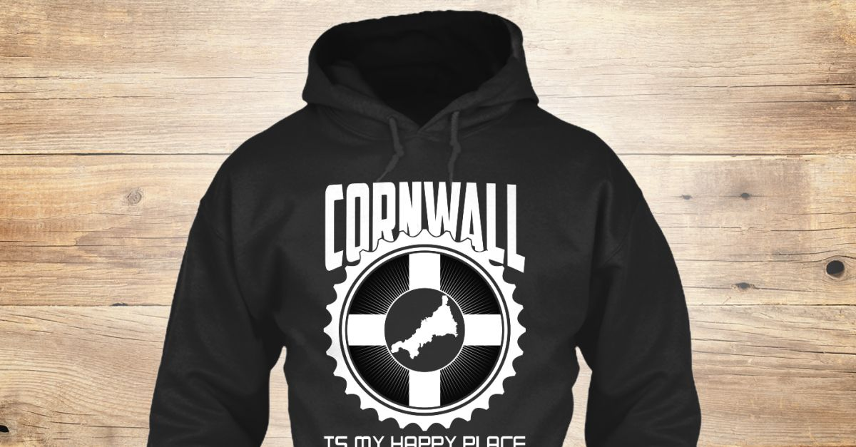 Discover Cornwall Is My Happy Place 161 Sweatshirt from