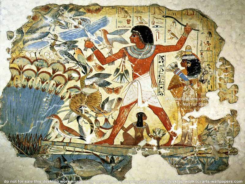 Ancient Egyptian art is the painting, sculpture, architecture and ...