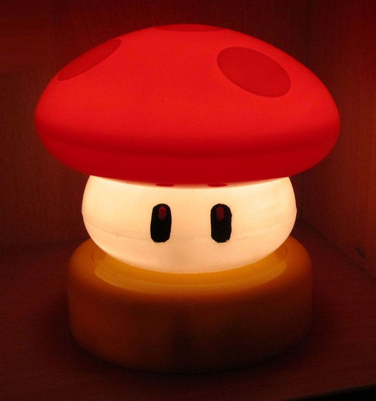 Cool Looking Lamps cool looking lamps : engaging lightings cute super mario power up