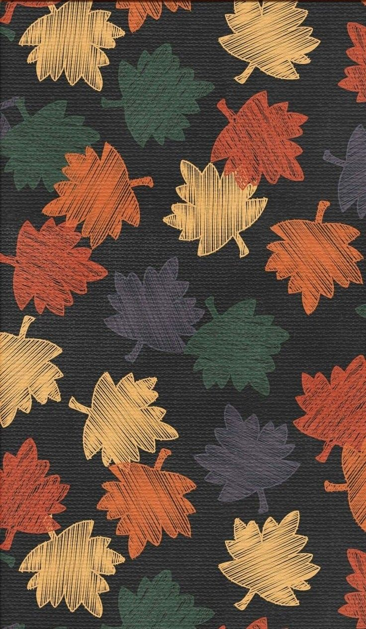 [autumn leaves]  shared by cozyseason on We Heart It