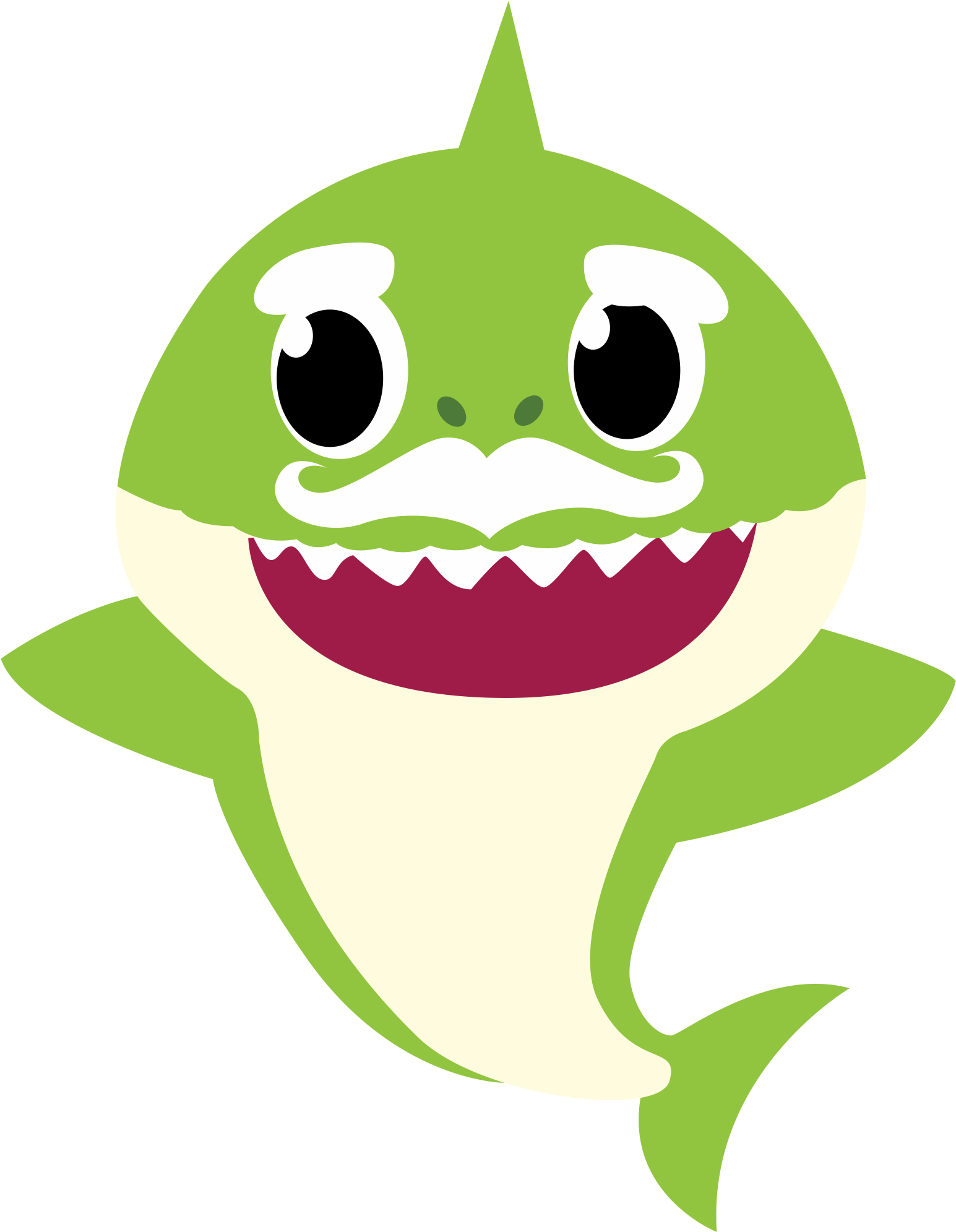 Free 1st Baby Shark Ft Jauz Invitation Templates Thank You Card Baby Shark Baby Shark Doo Doo Shark Theme Birthday