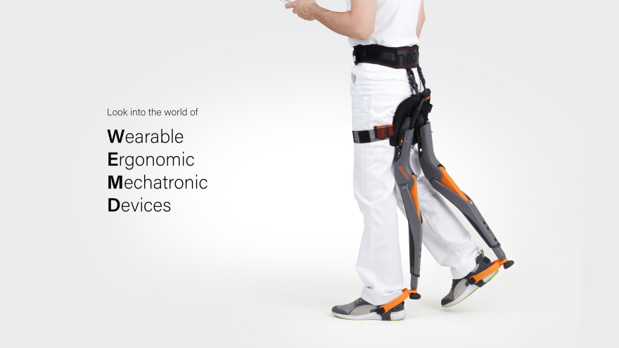 Reader Submitted A Wearable Chair Designed To Improve Working Conditions That Involve Manual Labor Chair Design Wearable Design