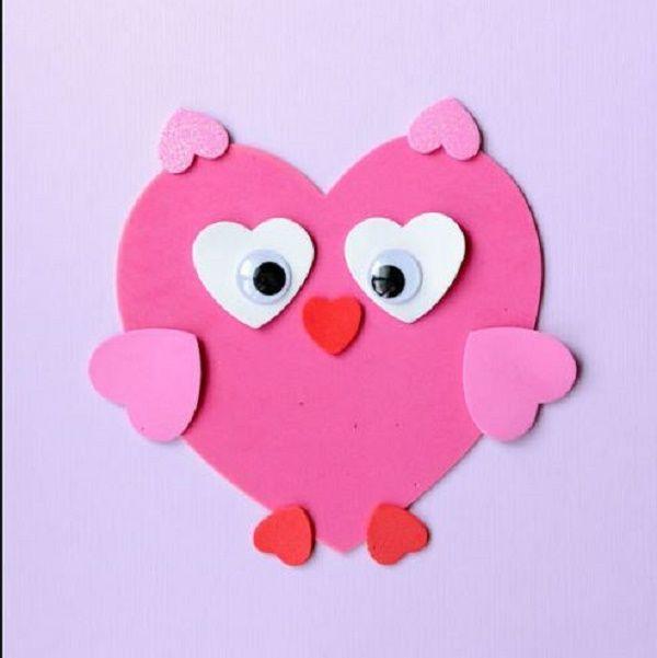 21 bricolages faciles faire avec des coeurs photos st valentin pinterest bricolage - Activite manuelle st valentin ...