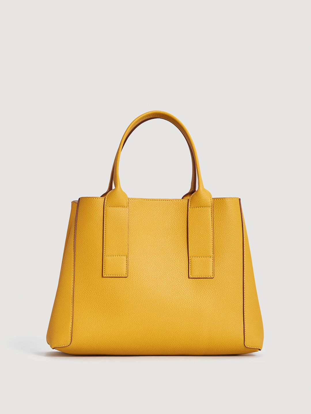 9dc1e7270c MANGO Mustard Yellow Solid Handbag #Yellow#Synthetic#Solid. MANGO Mustard  Yellow Solid Handbag #Yellow#Synthetic#Solid Leather Clutch Bags ...