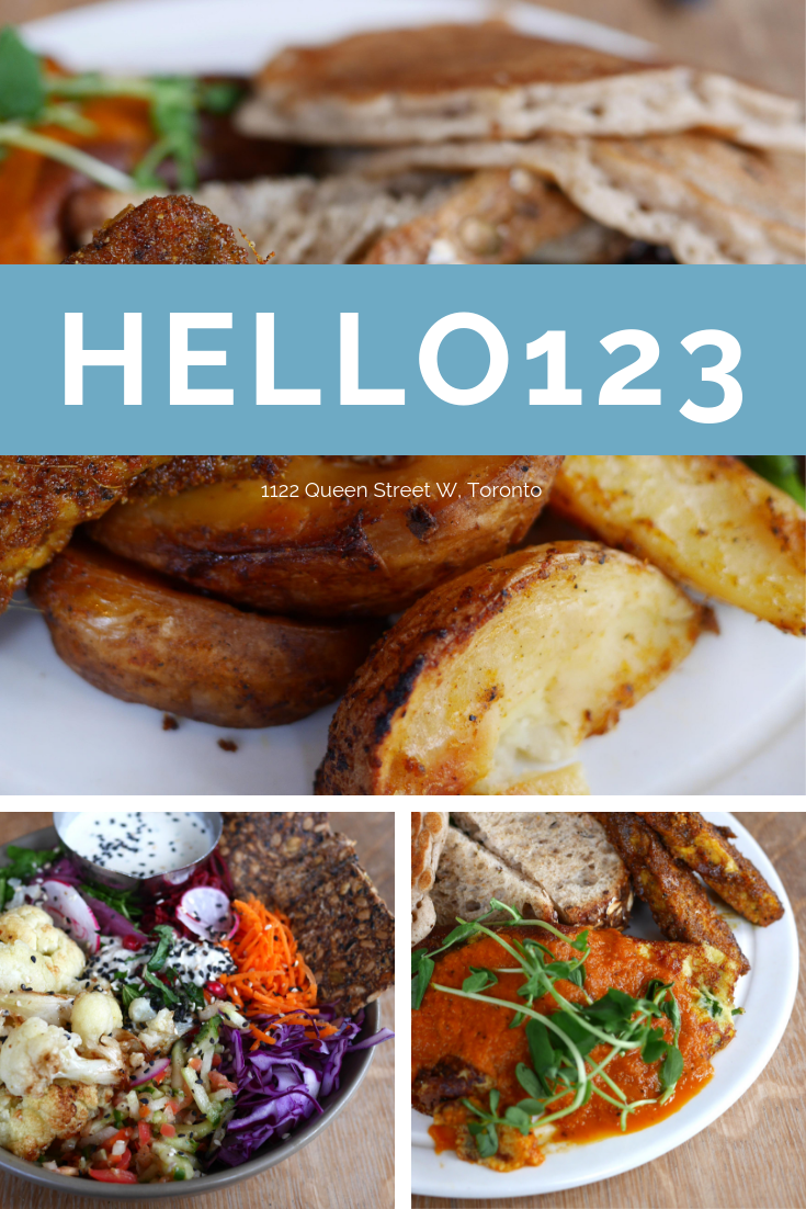 Hello123 Is A Vegan Restaurant From The Same Owners As Kupfert Kim Serving Mostly Healthy Offerings With Superfoods Prominently Featured Vegan Restaurants Healthy Toronto Restaurants