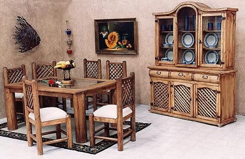 muebles-rusticos-para-comedor | TE ENTERASTE? | Pinterest