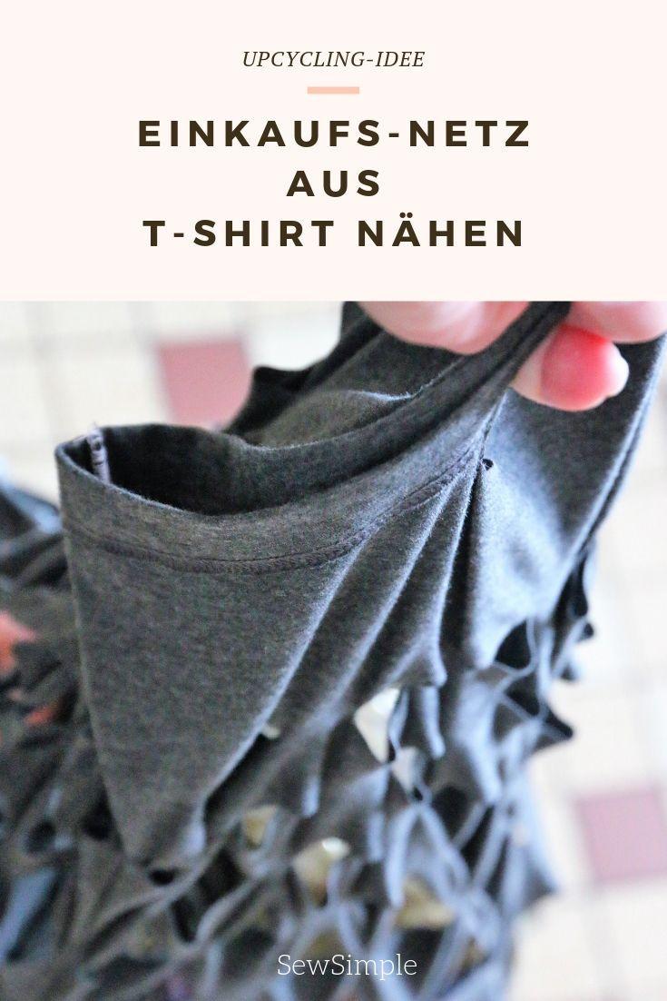 Upcycling: Tasche aus Shirt nähen! #nosewshirts