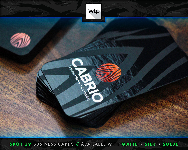 Spot Uv Business Cards Matte Silk Or Suede Double Sided Etsy Spot Uv Business Cards Suede Business Cards Printing Business Cards