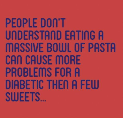 How well do you understand carb content? Something doesn't have to taste sweet to have an effect on blood sugar levels. Banana, Pasta, Pizza, Cereal, and Granola Bars are far more difficult to adjust for than candy & ice cream.
