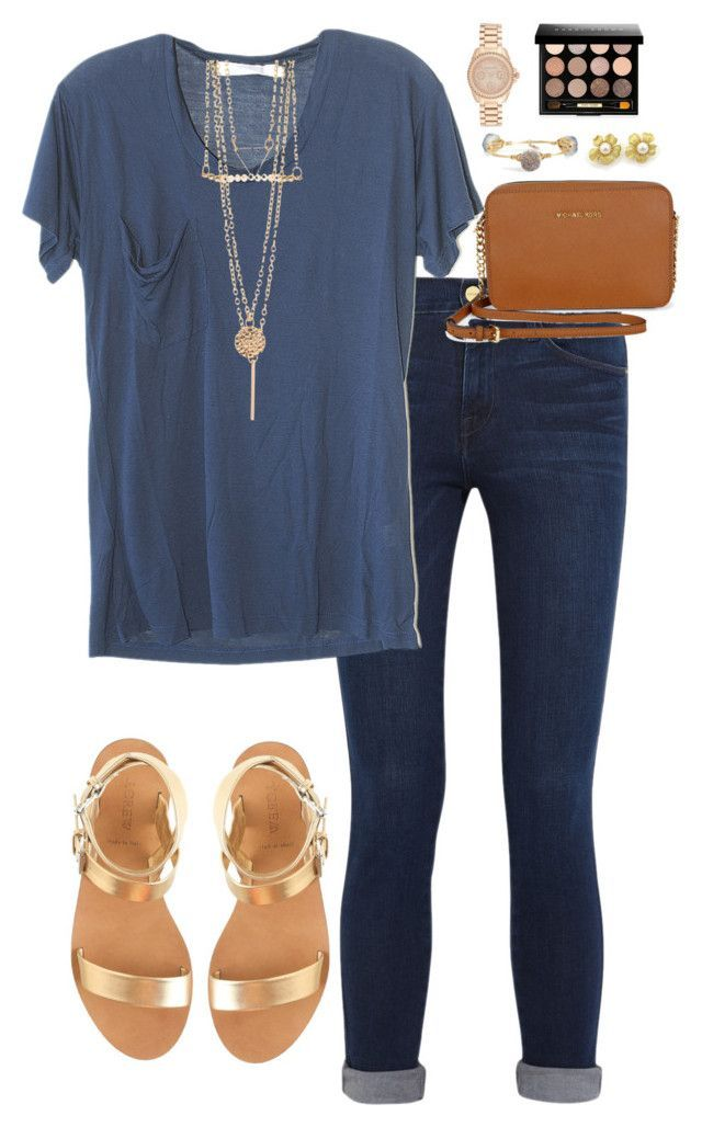 11 cute summer outfit with gold sandals