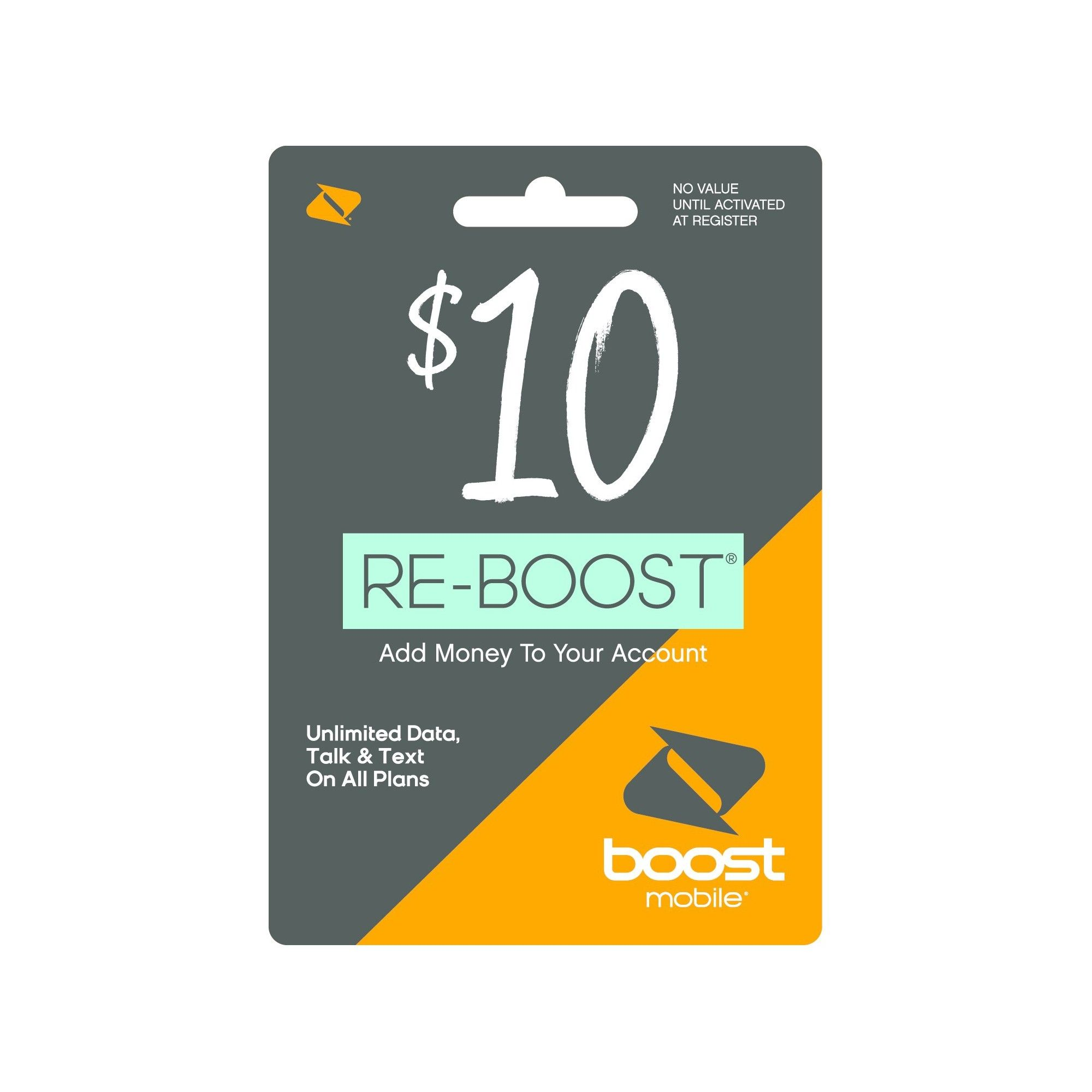 Boost Mobile 10 Prepaid Card Email Delivery Boost Mobile