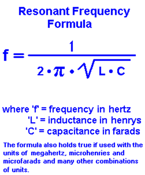 hertz and resonant circuit @alfredcentauri except that 'resonant' does not apply to the frequency, but to the construct which is resonating - it is the 'frequency at which the construct is resonant', as such, the 'resonant frequency [of the construct]' is perfectly valid and correct.