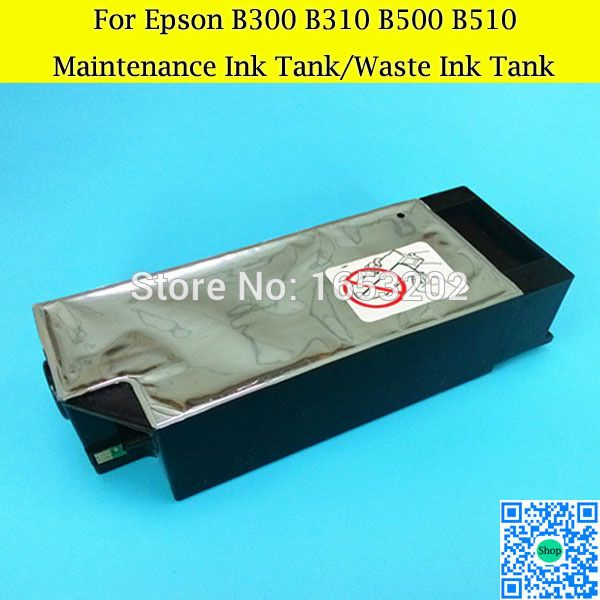 Maintenance Tank For Epson Stylus 4900 4910 B300 B310 B500 NEW