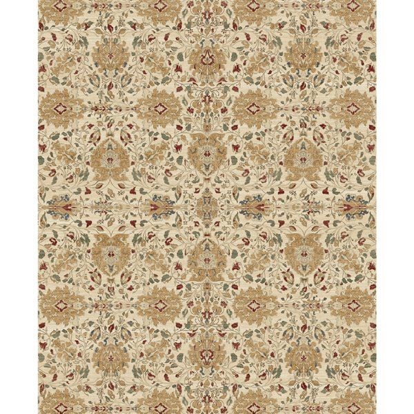 Ruggable 8 X 10 Traditional Cream Indoor Outdoor Area Rug 2