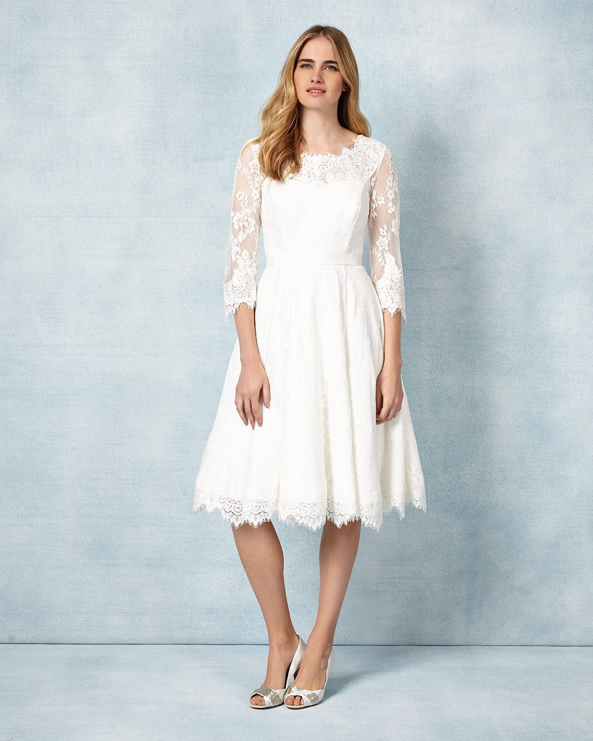 Phase Eight Cressida Wedding Dress Cream | Wedding Dresses ...
