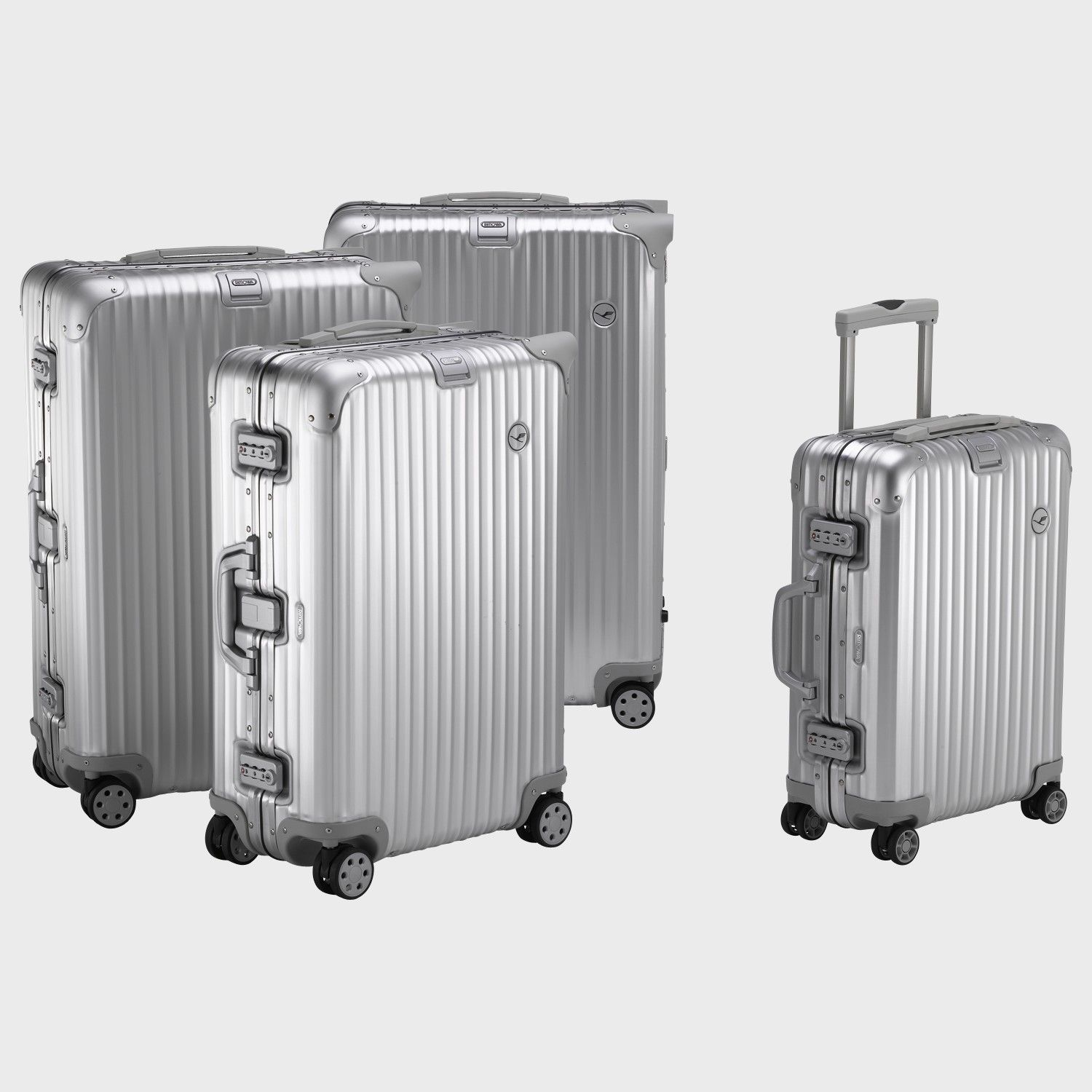 8815f95a1a71 luxury luggage   love it  Rimowa Lufthansa Alu Collection ...