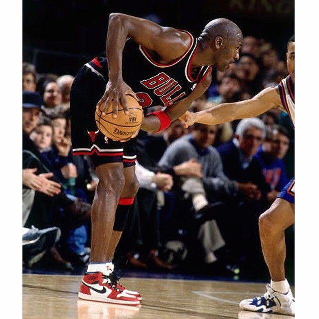 The last time MJ wore the Air Jordan 1