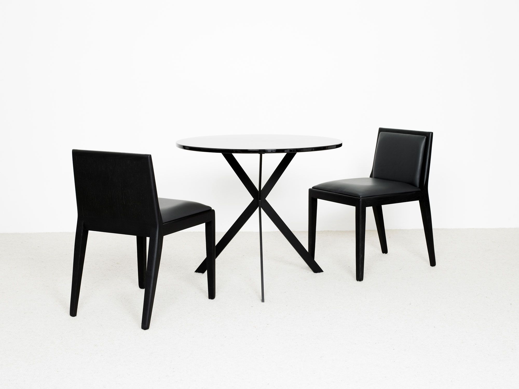 table ile ronde chaise eol - christophe delcourt | chairs