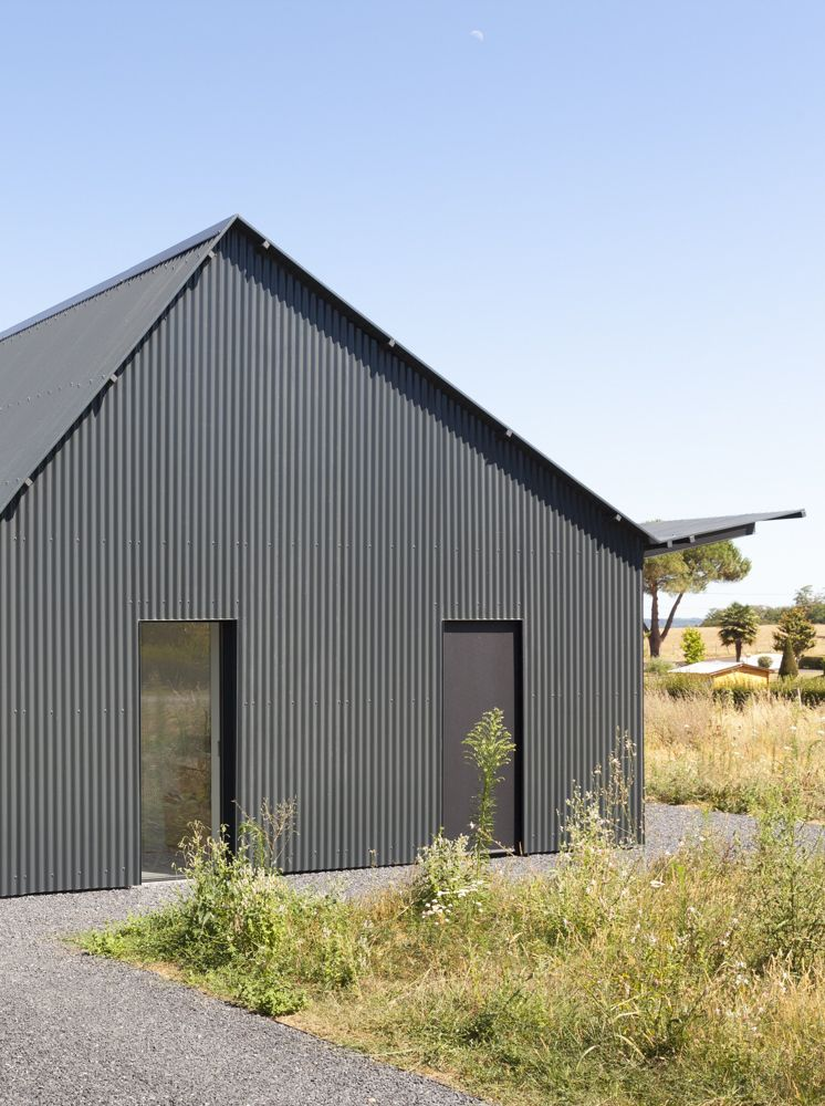 Gallery Of Saint Sauveur House Hors Champs 2 House Exterior Shed Homes Metal Building Homes