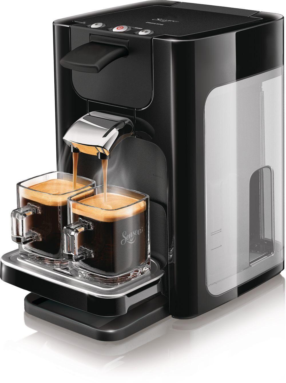 Philips Senseo Quadrante HD7863 coffee machine black