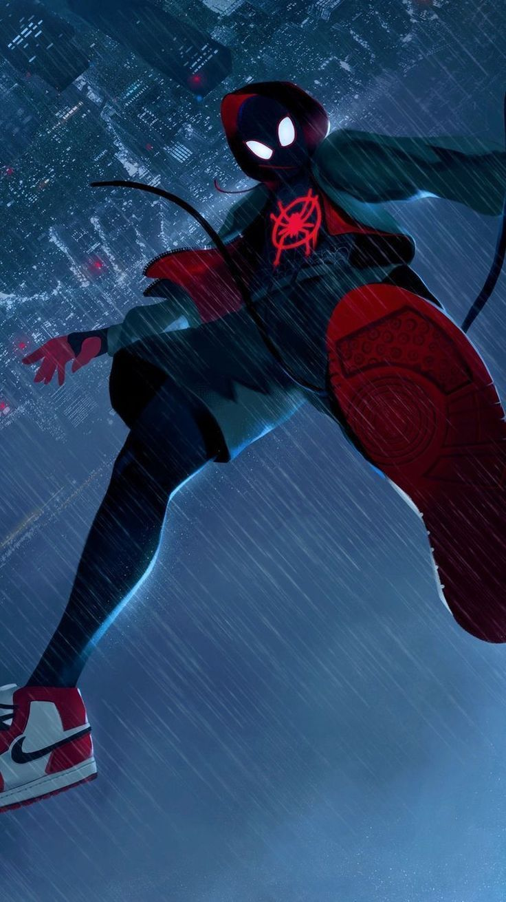 Film Review SpiderMan Into the SpiderVerse Spiderman