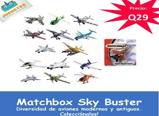 Aviones Matchbox Sky Buster Juguetes Siempre Actuales Juguetes