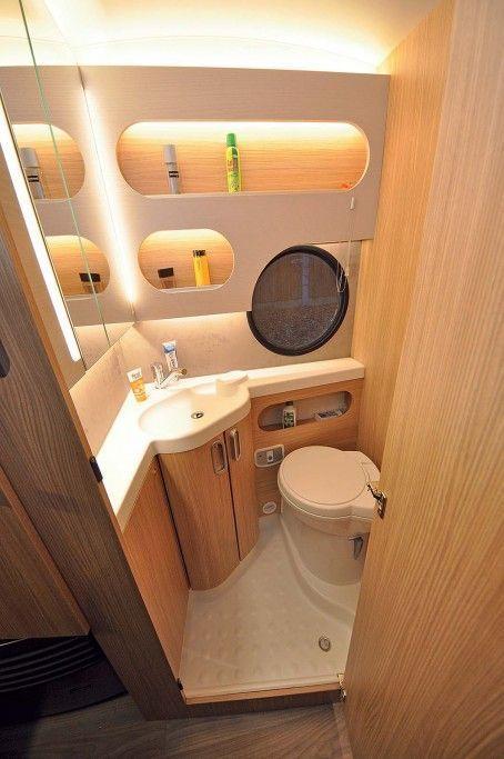 Best 13 Amazing Small Rv Bathroom Toilet Remodel Ideas