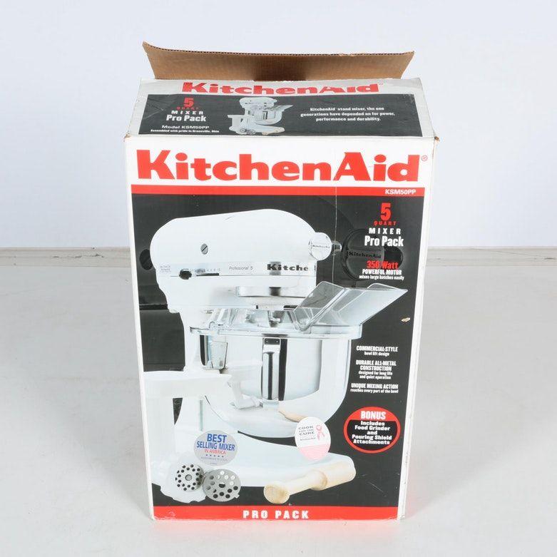 kitchenaid model k5ss attachments